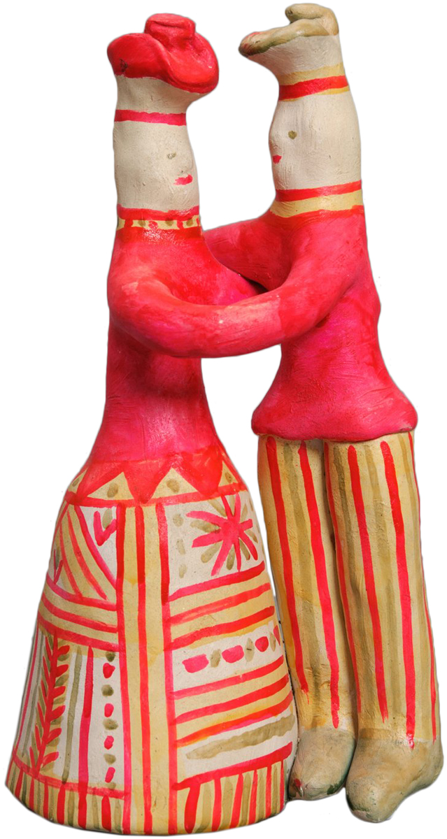 Filimonovo folk clay toy from Russia