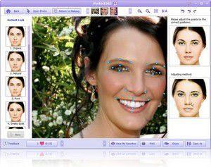 Perfect365 photo makeup program