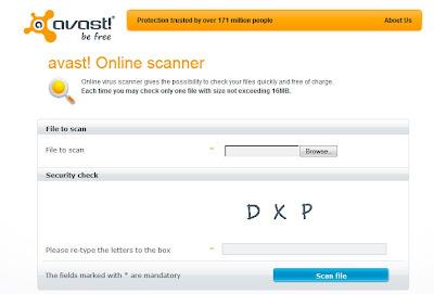 avast online virus scanner