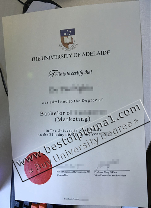 buy fake Adelaide certificate