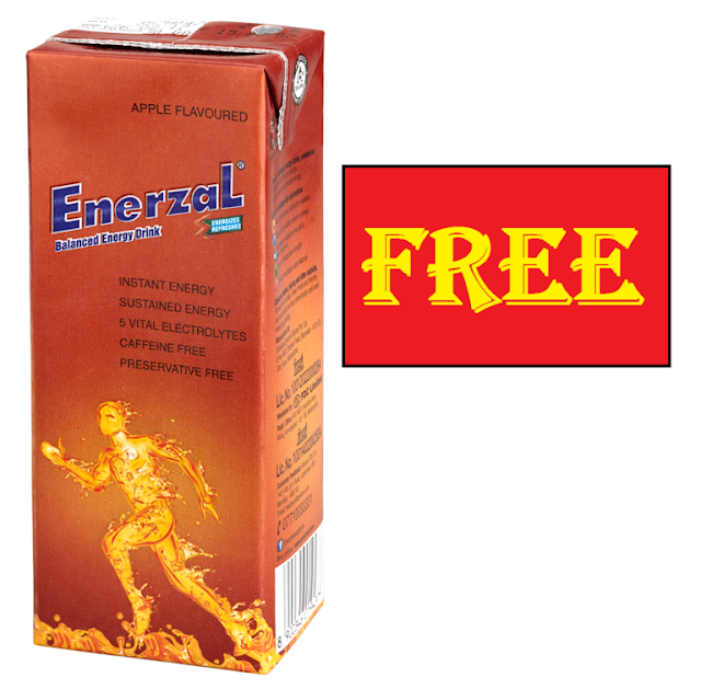 [फ्री का लूट] Signup & Get Free Enerzal Energy Drink Sample @ Home