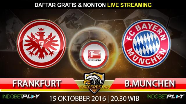 Prediksi Frankfurt vs Bayern Munchen 15 Oktober 2016 (Liga Jerman)