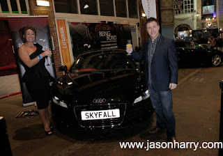 JAMES BOND Skyfall UK iMax Premier Party.