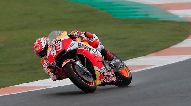 Marquez Bingung Terjatuh di MotoGP Amerika