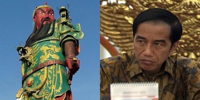 Respon Jokowi Terhadap Polemik Patung Guan Yu di Tuban