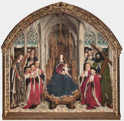 """Hay que recordar a los catalanes que su bello patrimonio se hizo gracias al sudor del resto de España. Por ejemplo, esta tabla pintada al óleo """"Verge dels Consellers"""" de 1445 por el valenciano Luis Dalmau."""