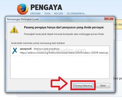 Cara menyembunyikan alamat IP tanpa software 2