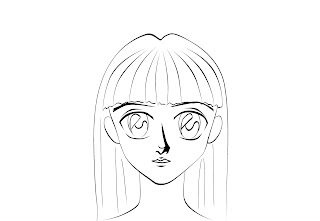 How To Draw Anime Manga Face Step 9