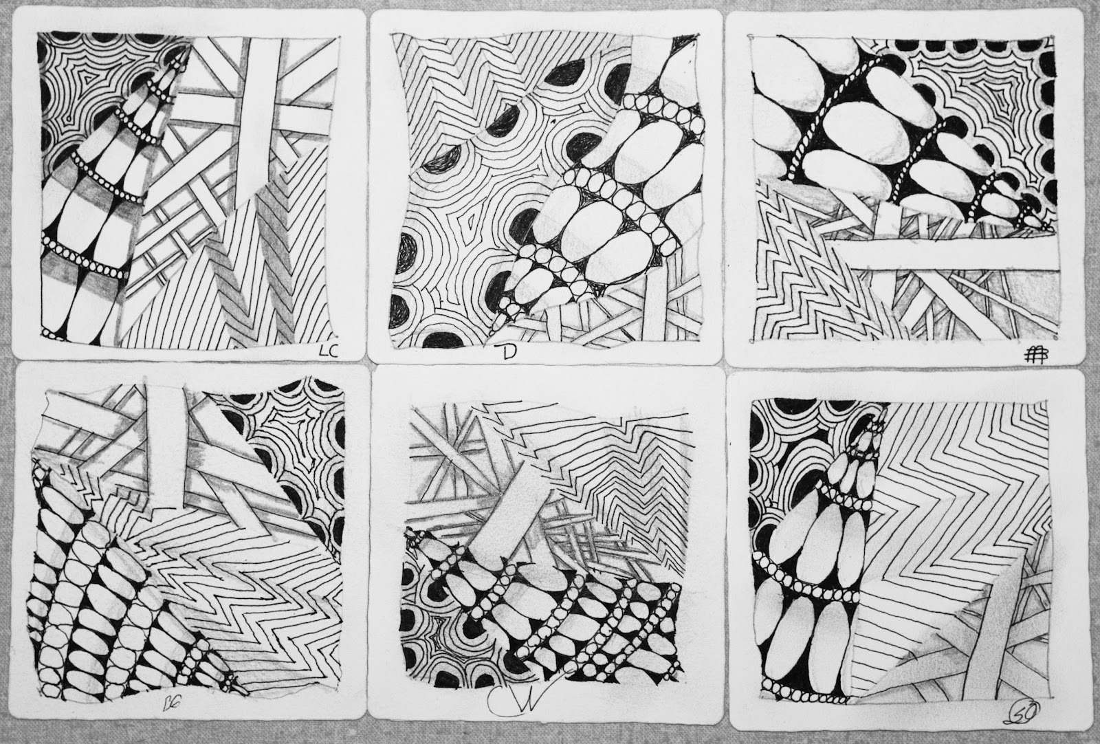 Create Look Enjoy Research Zentangle And Well Being