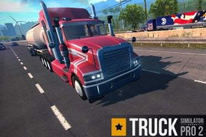 Download Truck Simulator PRO 2 MOD APK v1.6 Update Full Infinite Money Gratis