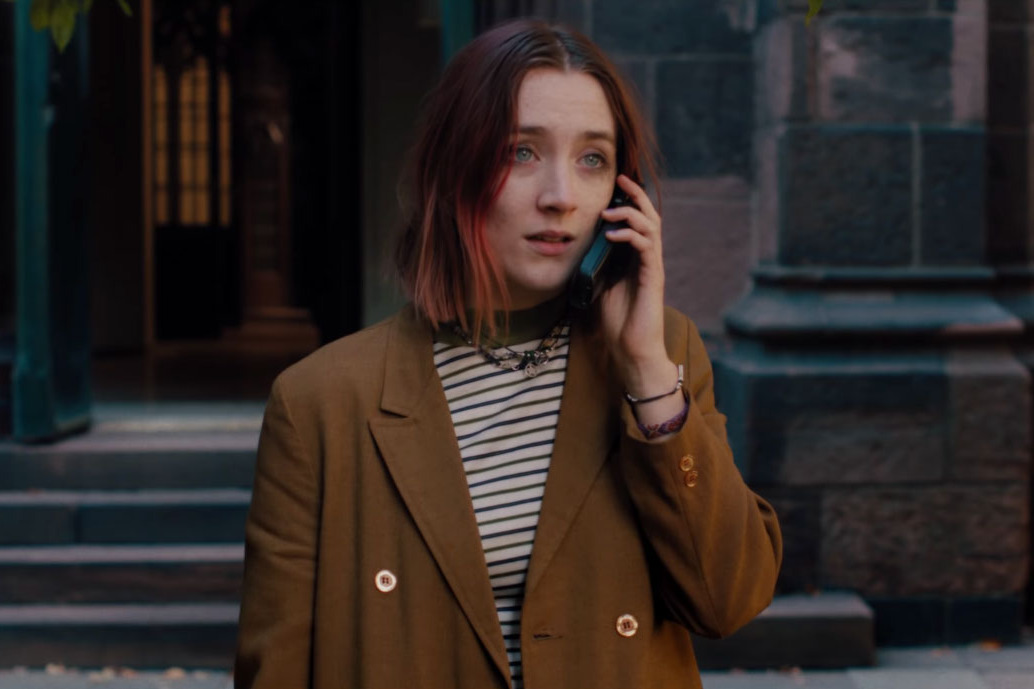 Lady bird time to fly Greta Gerwig Saoirse Ronan