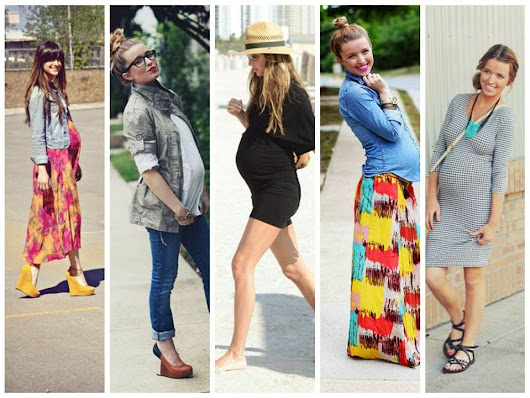 Hot Mamas: Sleek Spring/Summer Pregnancy Looks