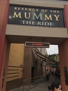 Revenge of the Mummy ride Universal Hollywood