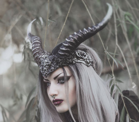silver ram mask