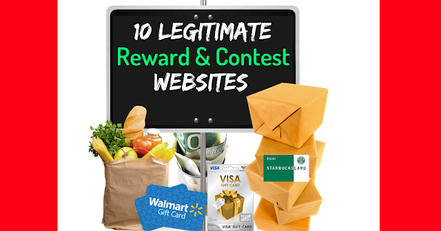 10 Contest & Reward Websites That Are Totally Legit
