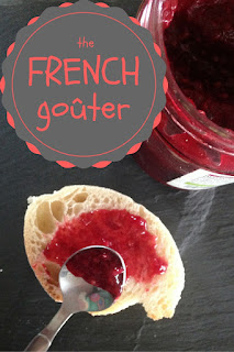 the french gouter: 4 o'clock snack