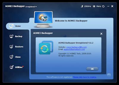 Aomei Backupper 4.6.2 License Key (Giveaway License Key)