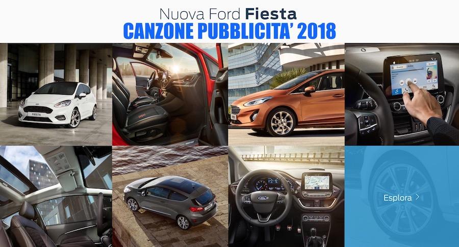 Canzone Pubblicità Ford Fiesta 2018