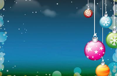 Tarjeta de Navidad Adornos de Navidad Bolas de Navidad