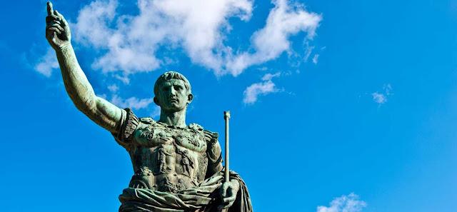 Estatua del Emperador Cayo Julio Cesar