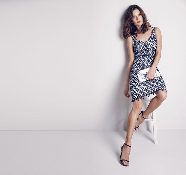 Coast Spring/Summer 2016 Lookbook featuring Alessandra Ambrosio