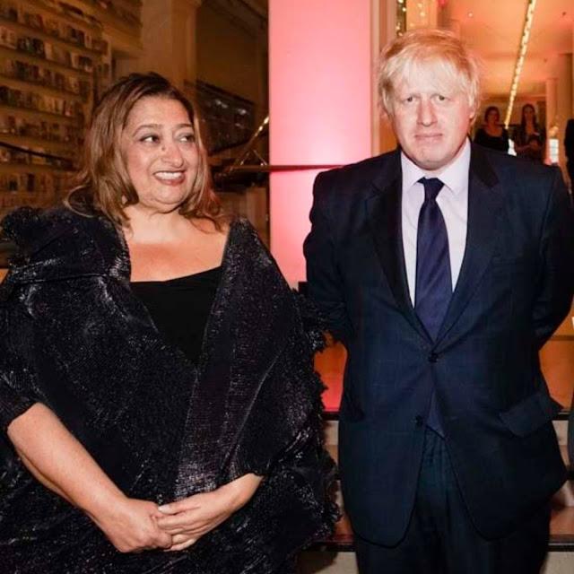 Zaha Hadid - Boris Johnson