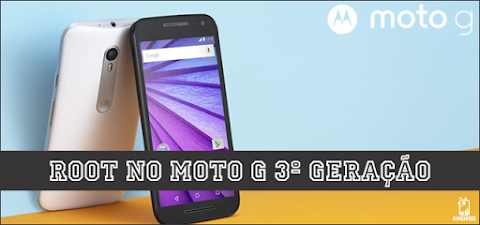 Como fazer root e desbloquear o bootloader do Moto G3! - Android Marshmallow