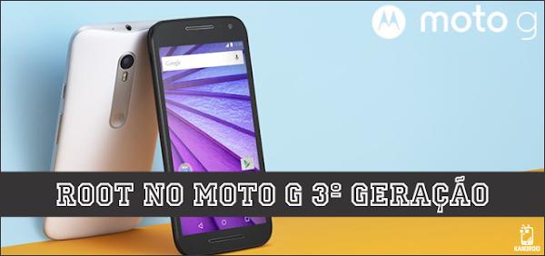 Como fazer root e desbloquear o bootloader do Moto G3! - Android Lollipop