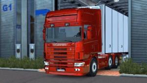 Scania V8 sound for Scania 4