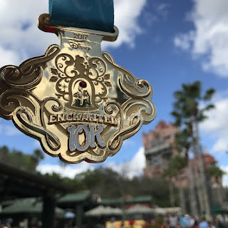 Médaille 10K Disney Hollywood Studio