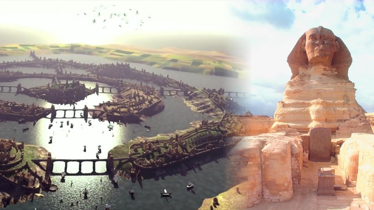 ¿Fue la Gran Esfinge construida realmente por los Atlantes?