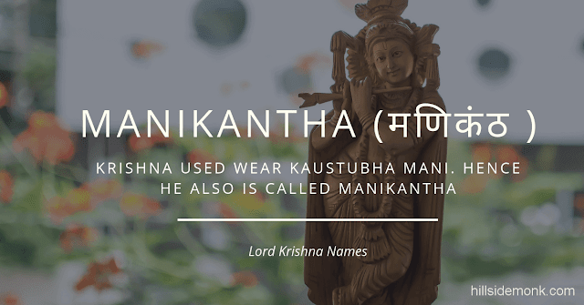 Lord Krishna Names With Meaning 42