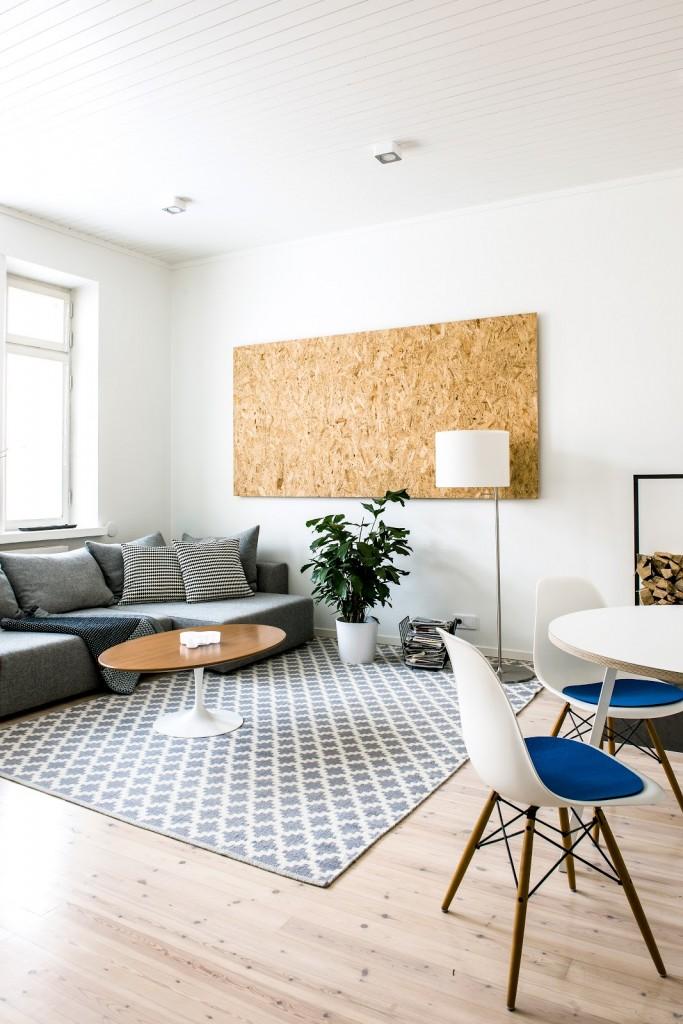 Una pizca de hogar decorando un piso de soltero - Piso de soltero ...