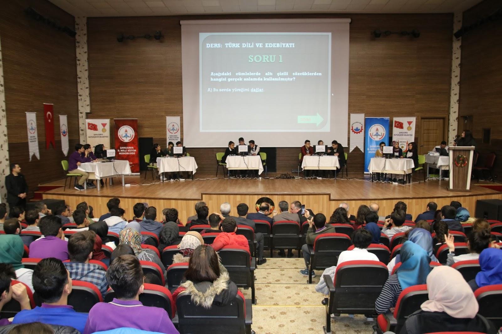okullar arası bilgi yarışması düzenleniyor bozova haber