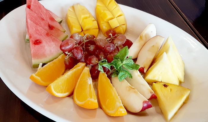 Italiannis Davao Now Serves Brunch- Fruit Platter
