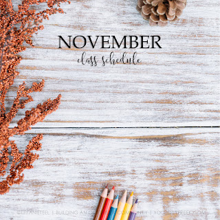 November Essential Oil Classes | An Oily FREE.K Community