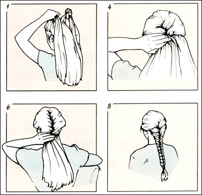 Peachy How To Make A Quotfish Tailquot Braid Long Hairstyles And Hair Care Hairstyles For Women Draintrainus