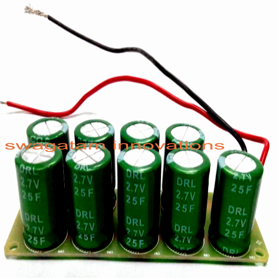 How to make a supercapacitor battery
