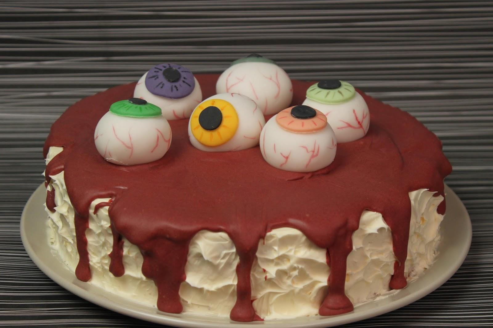 halloween essen blutige halloweentorte mit aug pfeln red velvet cake rezept jamblog. Black Bedroom Furniture Sets. Home Design Ideas