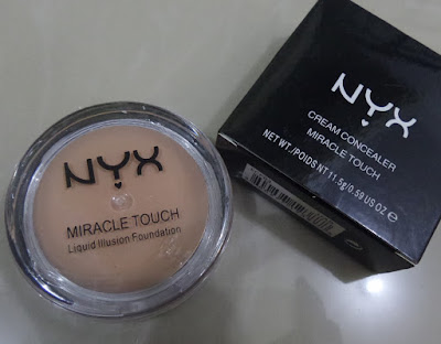 CONCEALER NYX MIRACLE TOUCH Concealer Cream