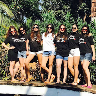 Kishwer Merchantt in shorts