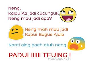 Gambar Lucu Rayuan Bahasa Sunda
