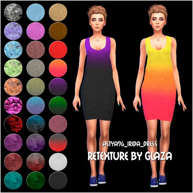 Аstya96_irida_dress Retexture by glaza