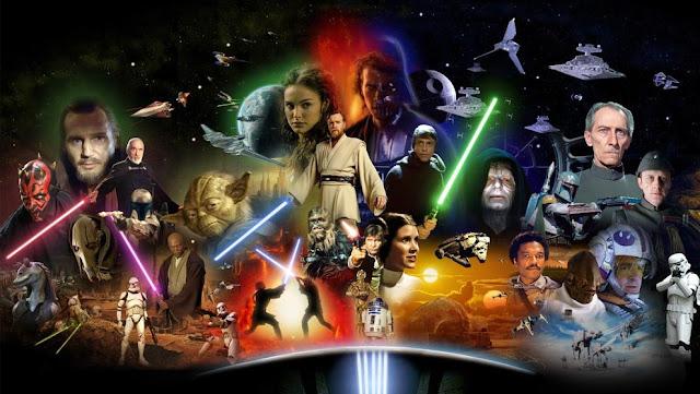 El universo de Star Wars de las dos primeras trilogías