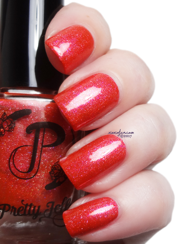 xoxoJen's swatch of Pretty Jelly Lights & Theatrics