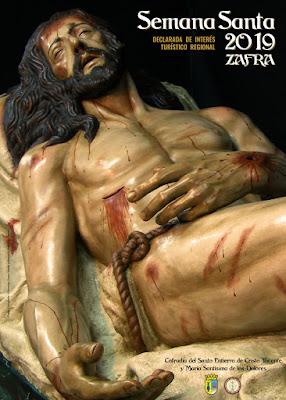 Zafra - Semana Santa 2019 - Foto Manuel Rodríguez - Diseño Fernando Chávez