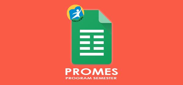 Promes SD Kelas 1 Kurikulum 2013 Semester 1 dan 2