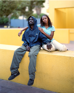 Reginald and Nicole, photographed by Richard Renaldi. Jump to slide show at CBS.