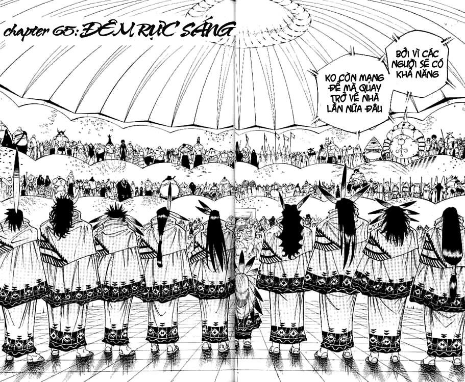 Shaman King [Vua pháp thuật] chap 65 trang 3