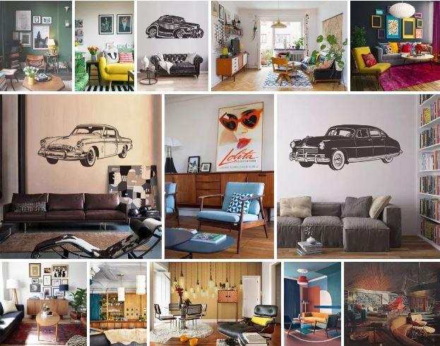 Almofadas e quadros na decoração